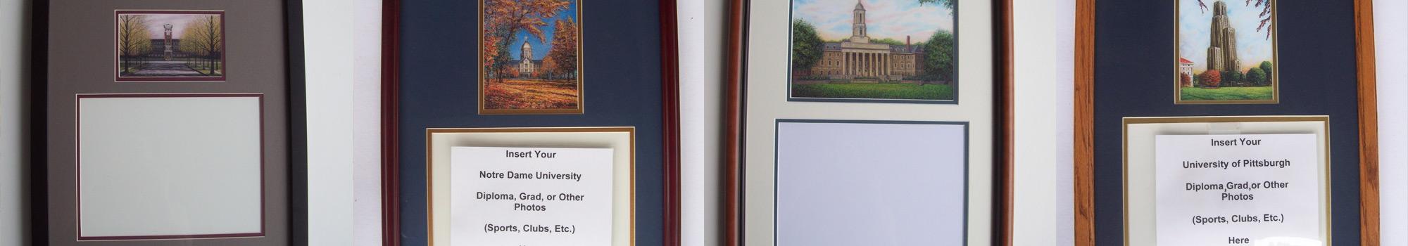 Framed Diplomas Header Image